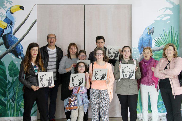 El centro Juan XXIII visita el Bathco Atelier