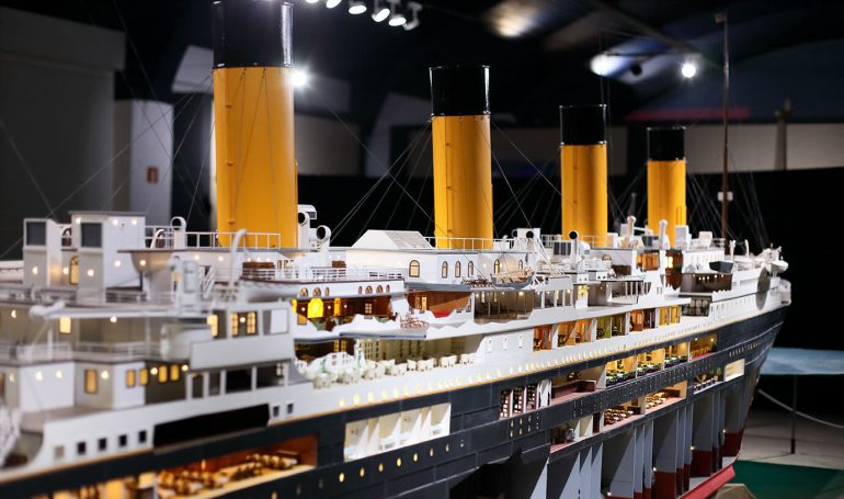 Titanic the reconstruction
